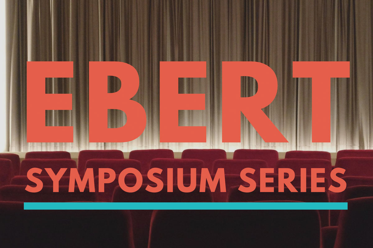 The third annual Ebert Symposium, exploring film and the media industry, will be online this year on three different dates, starting Oct. 8.