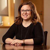 Former postdoctoral researcher Carolyn Sutter