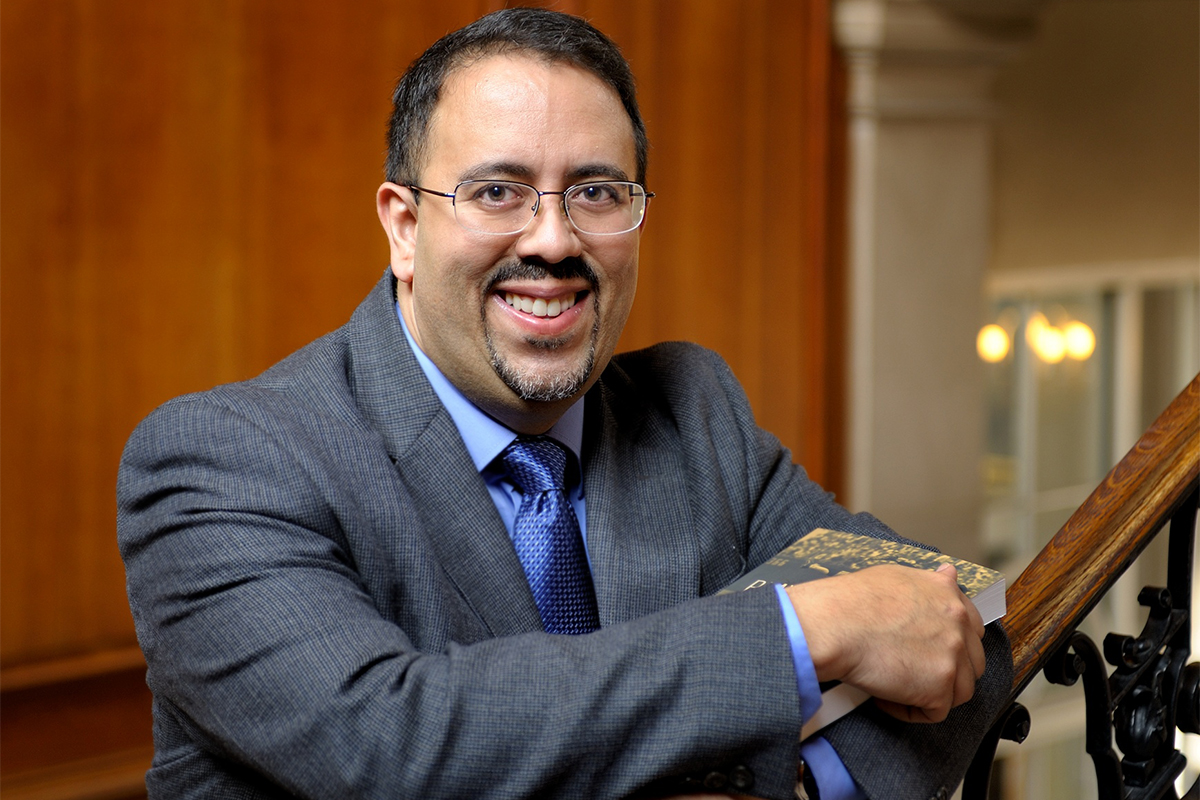Illinois history professor Adrian Burgos Jr. is a co-author of a new book for the Smithsonian about baseball's role in Latino culture in the U.S.
