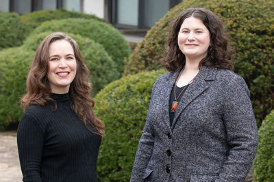 "A new book from a team of University of Illinois Urbana-Champaign legal scholars considers the unlikely intersection of environmental law and psychology. Arden Rowell, right, and Kenworthey Bilz are co-authors of ""The Psychology of Environmental Law,"" which explores and analyzes the theoretical and practical payoffs of pollution control, ecosystem management, and climate change law and policy when psychological insights are considered."