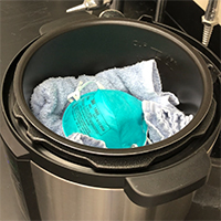 Rice cooker, Instapot an effective tool to disinfect n95 masks