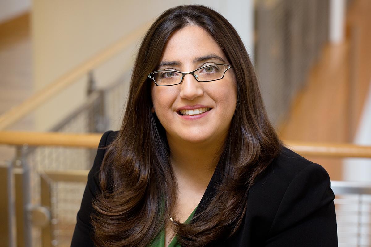 Photo of U. of I. political science professor Gisela Sin.