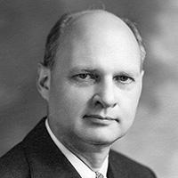 University President George Stoddard, 1946-53.
