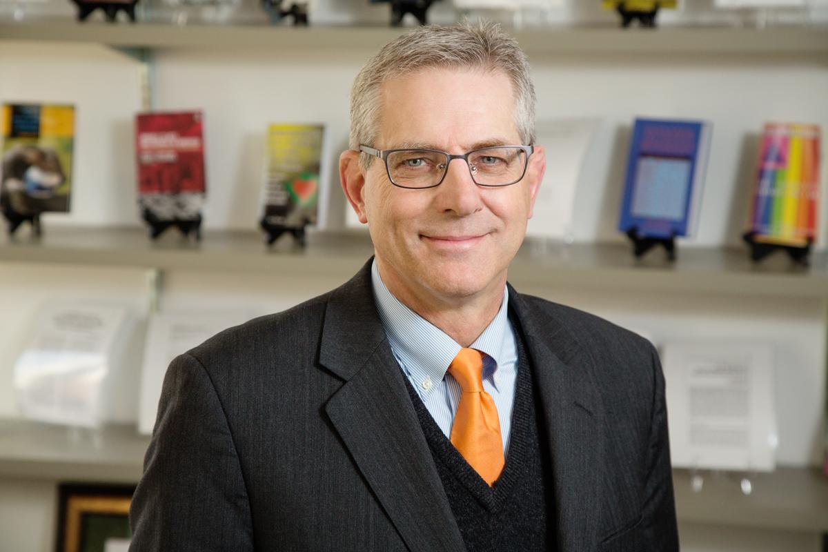 Photo of sociology professor Kevin Leicht