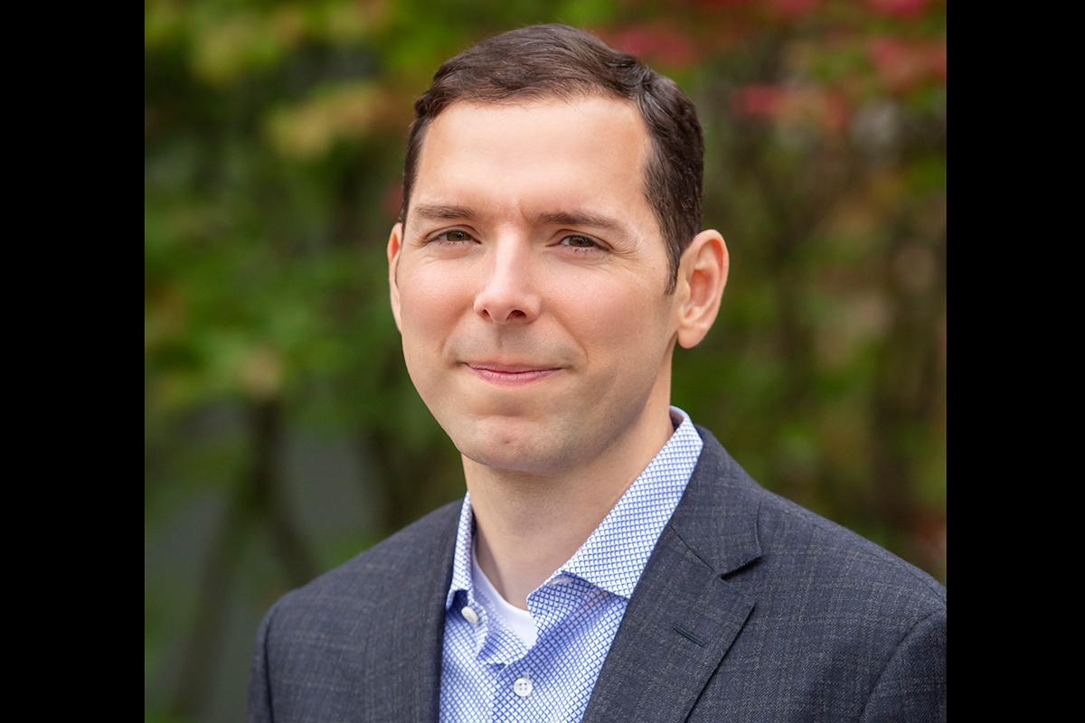 Portrait of psychology professor Aron Barbey
