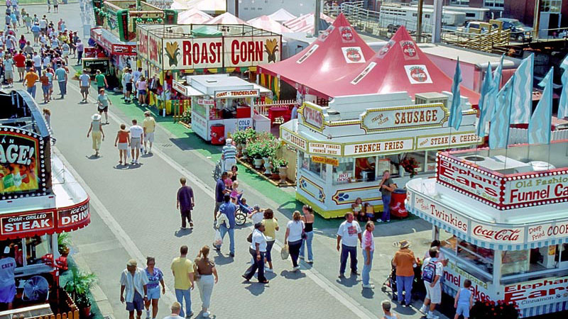 image of a state fair