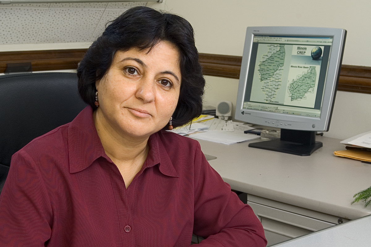 Madhu Khanna is a professor of agricultural and consumer economics at Illinois.