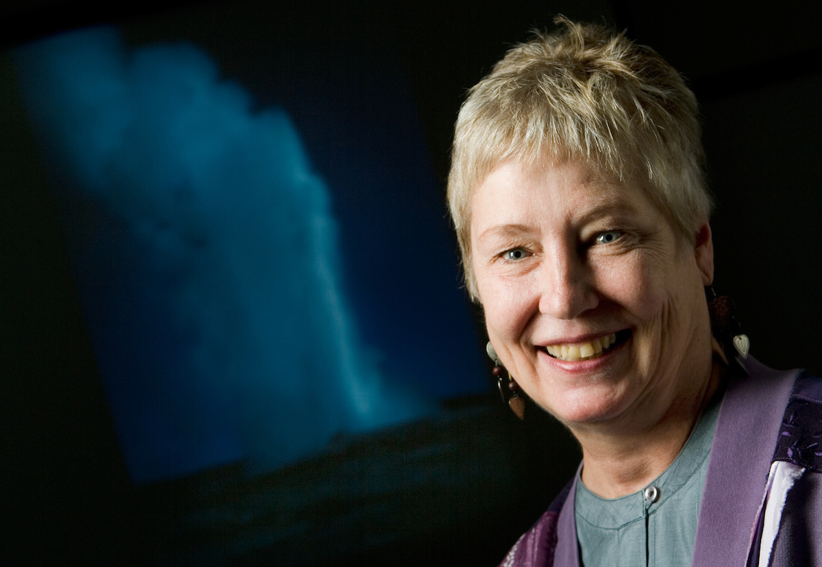 Midwest volcanologist and geology professor Susan W. Kieffer holds a Charles R. Walgreen Jr. Chair at Illinois.