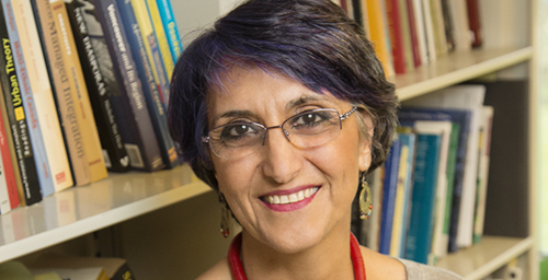 Faranak Miraftab, a professor of urban and regional planning, is one of six Urbana professors named University Scholars for their excellence in teaching, scholarship and service.