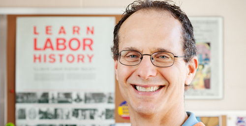 Workers in collective-bargaining states subsidize the low-wage model of employment in right-to-work states, says a new study co-written by Robert Bruno, a professor of labor and employment relations on the Urbana campus.