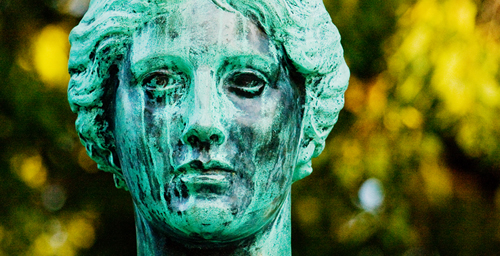 The green patina of Alma Mater will be gone when she returns to the U. of I. campus on April 9.