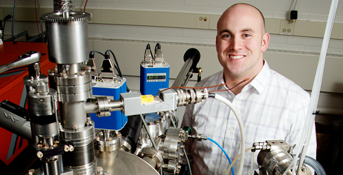 Illinois professor Lane Martin was honored with a Presidential Early Career Award for Scientists and Engineers.