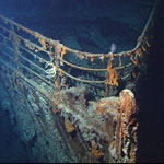 Halomonas bacteria are well-known for consuming the metal parts of the Titanic. Researchers now have found Halomonas in sandstone formations deep underground.