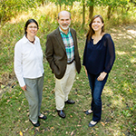 The effort to keep chronic wasting disease in check in Illinois is a success, report researchers Nohra Mateus-Pinilla, left, a wildlife veterinary epidemiologist with the Illinois Natural History Survey; U. of I. animal sciences professor Jan Novakofski; and postdoctoral researcher Michelle Green.