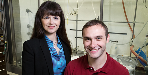 University of Illinois chemistry professor M. Christina White and graduate student Paul Gormisky developed a new catalyst that will help streamline the drug-discovery process.