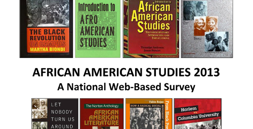 More than three-quarters of U.S. colleges and universities in a survey offer black studies in some form, says a new report from the African American studies department at the U. of I.