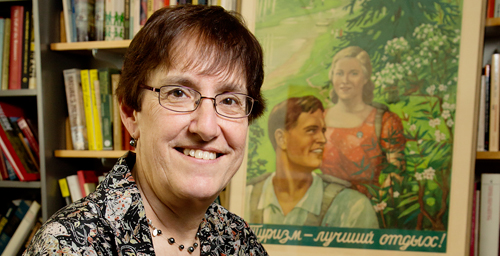 "U. of I. history professor and chair Diane Koenker, a specialist on the Soviet Union, tells the story of more than six decades of Soviet vacationing in her new book ""Club Red."""