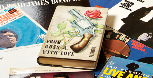 """April 13 marks the 60th anniversary of the publication of """"Casino Royale,"""" and the University of Illinois will recognize the event with a collaborative celebration hosted by the Rare Book and Manuscript Library, the Spurlock Museum, and the Sousa Archives and Center for American Music."""