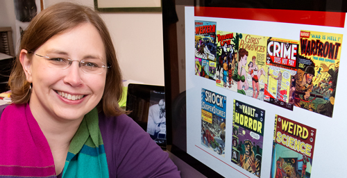 "Carol Tilley, a professor of library and information science, has found evidence that an anti-comics crusading psychiatrist in the 1950s ""played fast and loose with the data."""