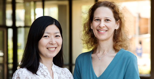 A child's temperament, sex and the type of bullying they experience all influence whether the child subsequently becomes depressed or more aggressive after being victimized, indicates a study by graduate student Niwako Sugimura, left, and psychology professor Karen D. Rudolph.