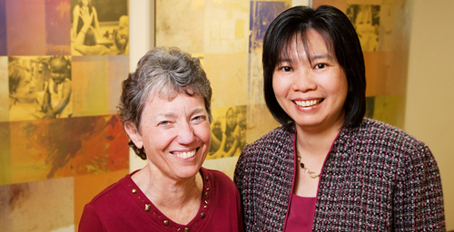 Although often perceived as a burden to taxpayers, government spending on programs that serve the poor stimulates the economy, creates jobs and even enhances property values, according to a recent study led by Mary Keegan Eamon, a professor in the School of Social Work. Co-authors of the study were social work professor Chi-Fang Wu (right) and Saijun Zhang, a postdoctoral research associate in the Children and Family Research Center.