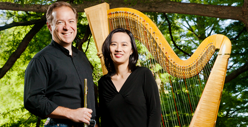 Jonathan Keeble and Ann Yeung, who perform and record as the Aletheia Duo, recently released their second CD.