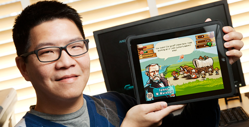 Wen-Hao (David) Huang, a professor in the department of education policy, organization and leadership at Illinois, is developing a course for undergraduate students that will teach them how to create their own educational games.