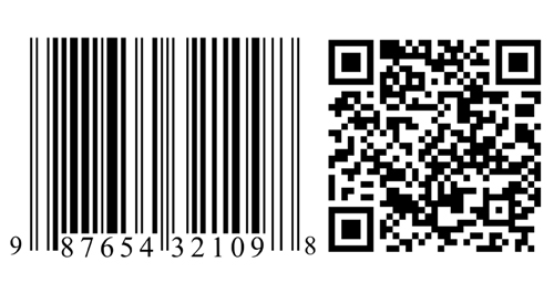 Electronic identifiers such as the barcode, left, or QR code, right, are evolving in complexity and capability, packaging expert Scott Morris says.