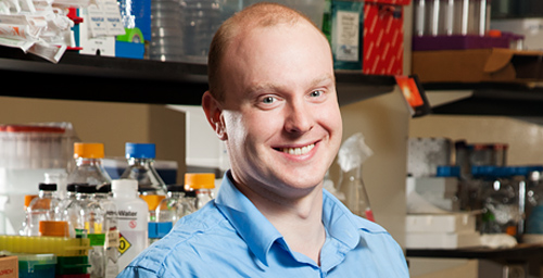 Chemistry professor Douglas Mitchell is a recipient of the 2011 NIH Director's New Innovator Award.