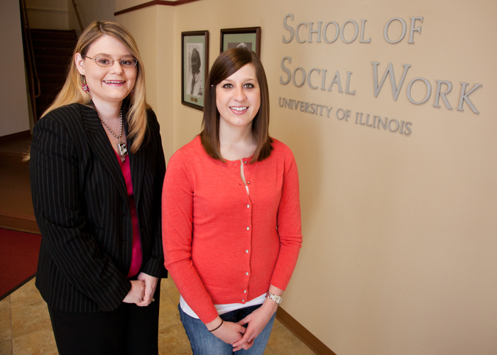 Social Work Students Affecting Communities Well Before Graduation