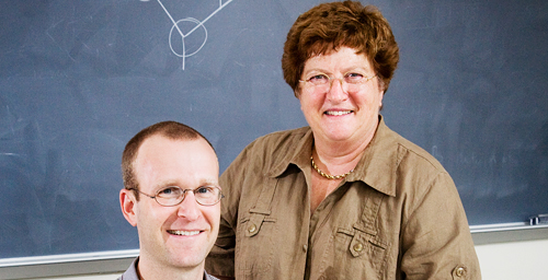 Using data supplied by researchers at the Max Planck Institute, University of Illinois postdoctoral researcher Elijah Roberts and chemistry professor Zaida Luthey-Schulten built a computer model of a bacterial cell that accurately simulates the behavior of actual cells.