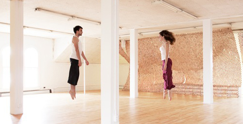 The new dance studio is located on the second floor of the former East Art Annex 2 at 1301 S. Goodwin Ave., Urbana.