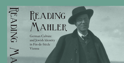 Cover image of the book: Gustav Mahler in March 1906 on the beach of the Zuiderzee near Valkeveen, the Netherlands.