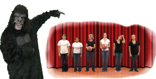 By modifying a famous experiment involving a person in a gorilla suit and two teams of people passing basketballs back and forth, Simons demonstrated that expecting the unexpected does not improve one's chances of seeing it.