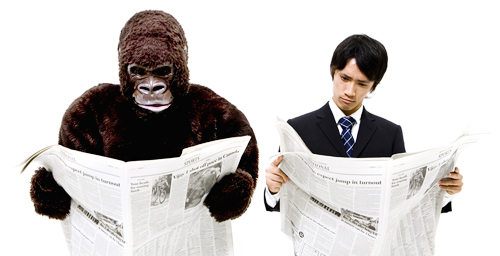 """""""The Invisible Gorilla, And Other Ways our Intuitions Deceive Us"""" points out many common blind spots."""