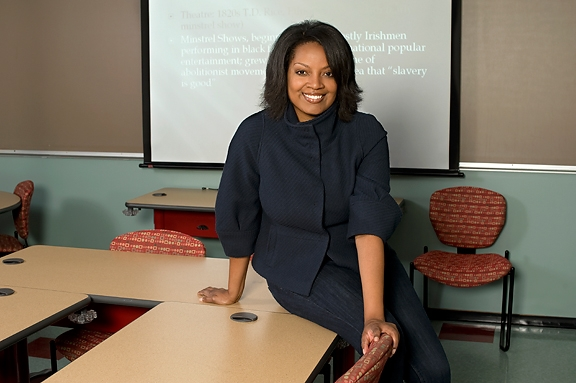 Brendesha Tynes, a professor of educational psychology and of African American studies at Illinois, discovered that white students and those who rated highly in color-blind racial attitudes were more likely not to be offended by images from racially-themed parties where attendees dressed and acted as caricatures of racial stereotypes.