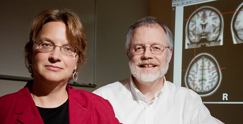 Illinois doctoral alumna Anna S. Engels (not pictured) and psychology professors Wendy Heller and Gregory Miller found that worry and fear alter patterns of brain activity associated with depression.
