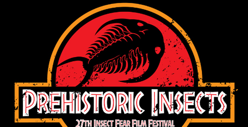 Entomology graduate student Nils Cordes' design entry for the T-shirt contest of the Insect Fear Film Festival.