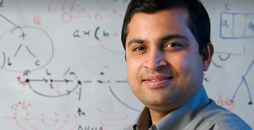 Computer scientist Saurabh Sinha led the team of researchers that developed a new statistical technique that allows scientists to scan a genome.