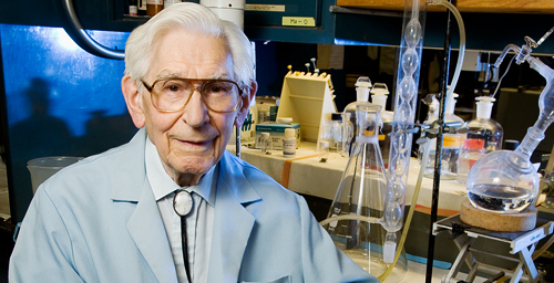Fred Kummerow, a 94-year-old University of Illinois veterinary biosciences professor emeritus who still conducts research on the health effects of trans fats in the diet, filed a petition with the FDA last month to ban trans fats.