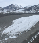 View slideshow of the shrinking glaciers of Bylot Island.