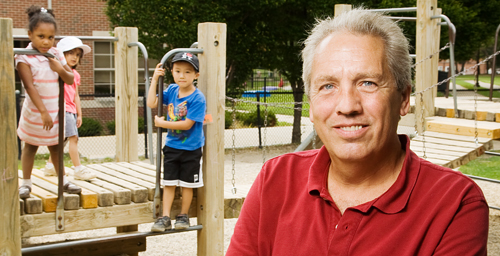 Mothers and fathers play different roles and make different contributions to a child's upbringing, but a father's influence upon a child's academic success later in life is felt the most when he's involved from the very beginning, says Brent McBride, a University of Illinois expert in early childhood education.