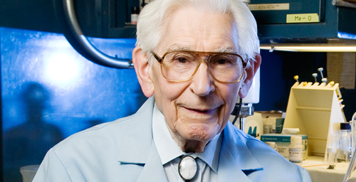 U. of I. emeritus veterinary biosciences professor Fred Kummerow, who is 94, has spent nearly six decades studying lipid biochemistry, and is a long-time advocate for a ban on partially hydrogenated fats in food.