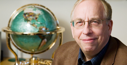 Don Wuebbles, the Harry E. Preble Professor of Atmospheric Sciences, was one of the contributors to the assessment of climate change in the U.S.