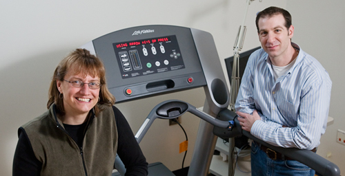 Charles Hillman and Darla Castelli, professors of kinesiology and community health, have found that physical activity may increase students' cognitive control - or ability to pay attention - and also result in better performance on academic achievement tests.