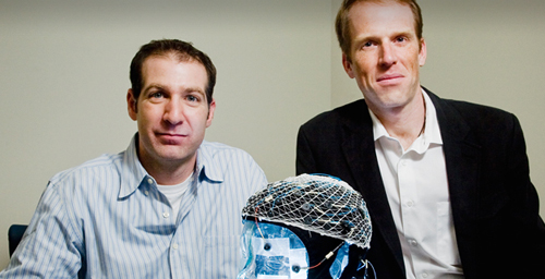 Charles Hillman, left, and Steven Broglio, both professors of kinesiology and community health, have found that concussions are linked to suppressed brain functioning years later.