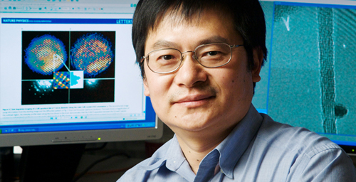 Jian-Min (Jim) Zuo, a professor of materials science and engineering, has developed a new imaging technique that can reveal the atomic structure of a single nanocrystal with a resolution of less than one angstrom (less than one hundred-millionth of a centimeter).
