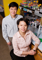 Veterinary biosciences professor Humphrey Yao and graduate student Chia-Feng Liu found that a gene essential to the development of many organs is also vital to female, but not male, sexual development.