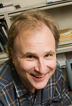 Illinois cell and developmental biology and neuroscience professor David Clayton discovered in 1992 that gene expression changes in the brain of a zebra finch or canary when it hears a new song from a male of the same species.