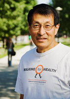 Kinesiology and community health professor Weimo Zhu was the lead organizer of the